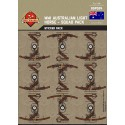 WW1 - Australian Light Horse - Sticker Pack