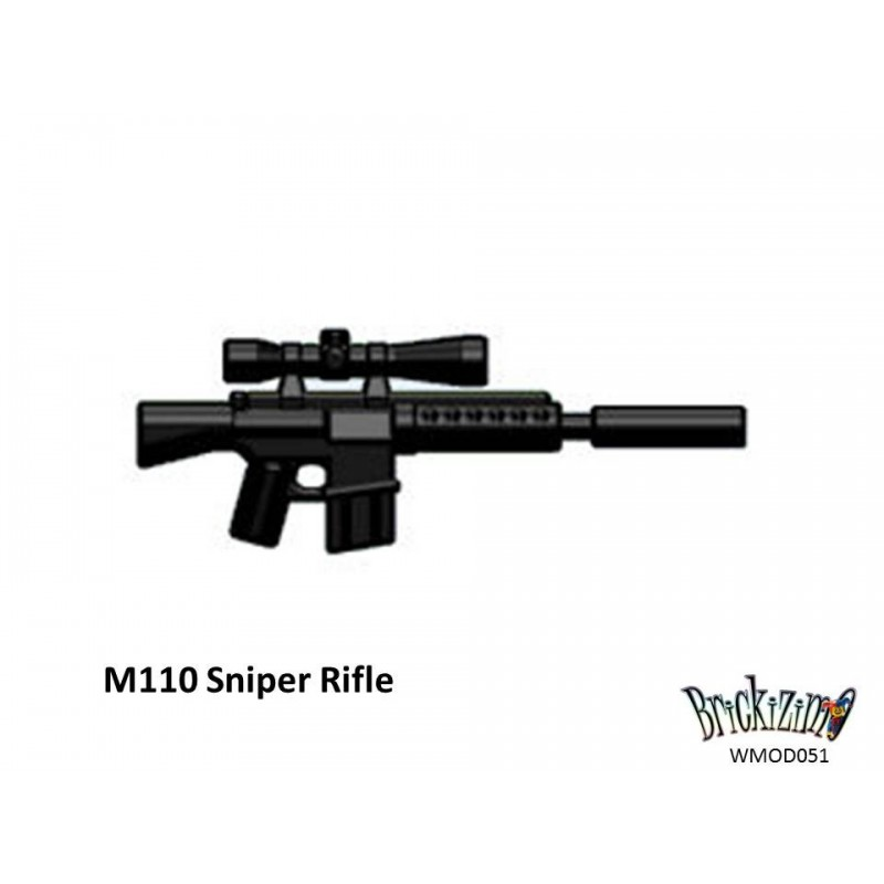 M110 Sniper Rifle M110 Sniper Rifle Suppressed
