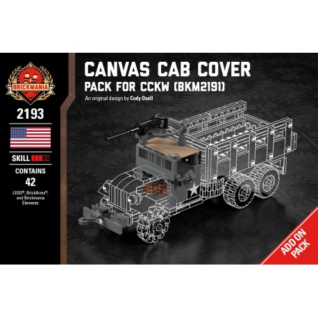 Canvas Cab Cover and Winch - Pack for CCKW (BKM2191)