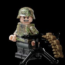 WWII Duitse Kursk Soldaat
