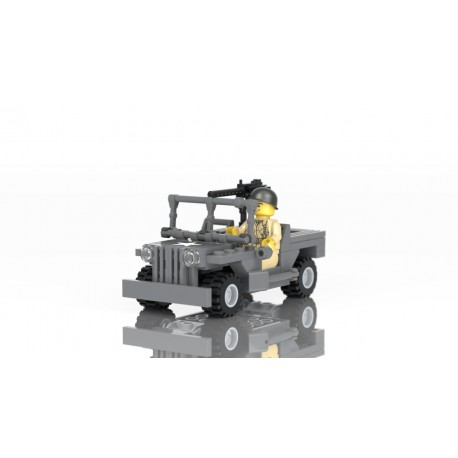 Jeep with Airborne MiniFigure