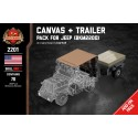 Canvas + Trailer - Pack voor Jeep