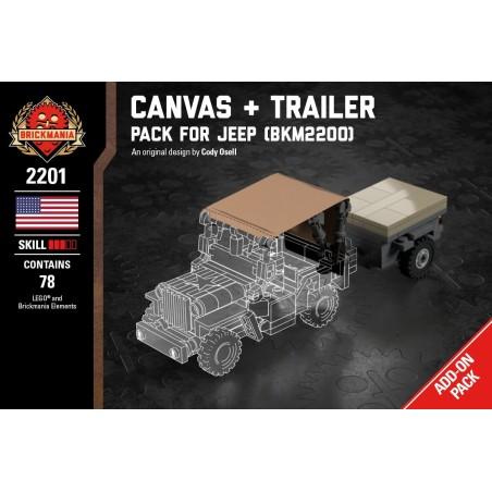 Canvas + Trailer - Pack für Jeep