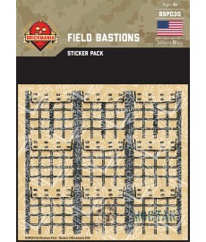 WK2 - U.S. Infanterie - Sticker Pack