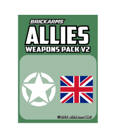 BrickArms Geallieerden Wapen set v2