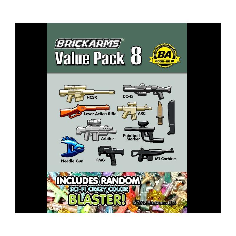 BrickArms Value Pack 8