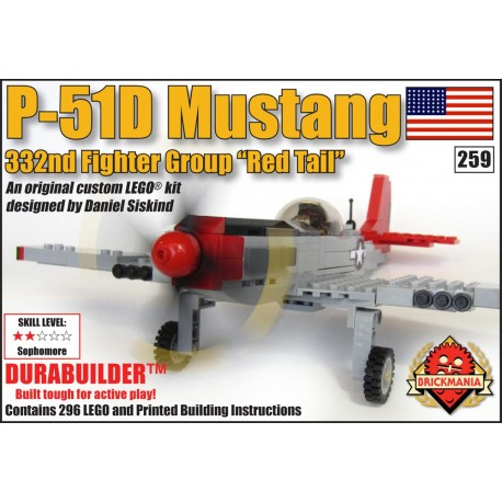 "P-51D Mustang ""Red Tail"""