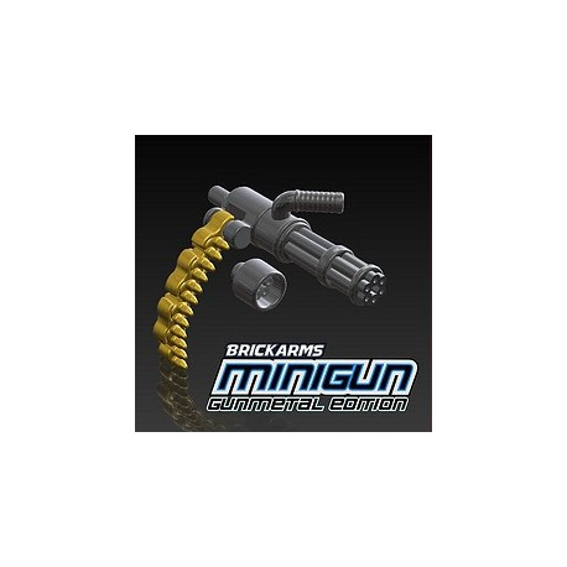 MiniGun with ammo chain