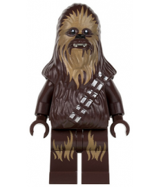 Chewbacca (dunkles Tan-Fell)