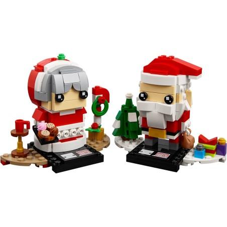 LEGO ® Kerstman en Kerstvrouw