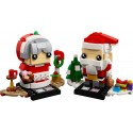 LEGO ® Herr und Frau Weihnachtsmann