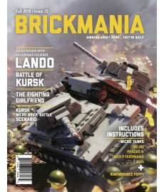 Brickmania Magazine Issue 22 Summer 2018
