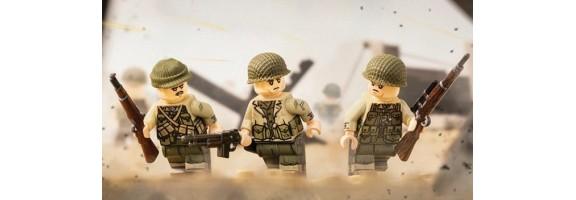WKII Alliierte Soldaten
