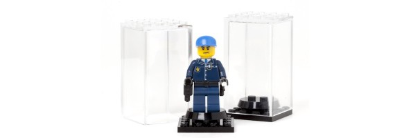 Display Cases & MiniFig Stands