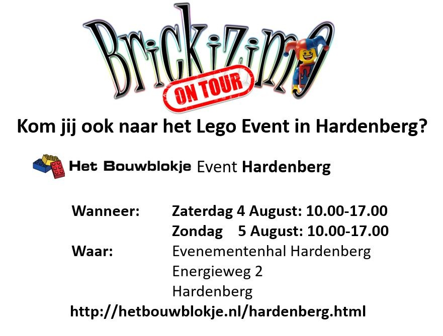 BRiCKiZiMO events